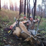 Gila bow hunter with monster unit 16A bull