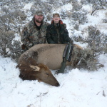 father son youth cow hunts guided