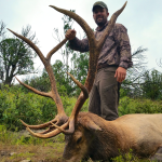 unit 34 guided hunting monster 5x5 with a bow