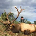 unit 34 rifle elk hunting guided hunt