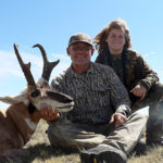 New Mexico youth hunting antelope